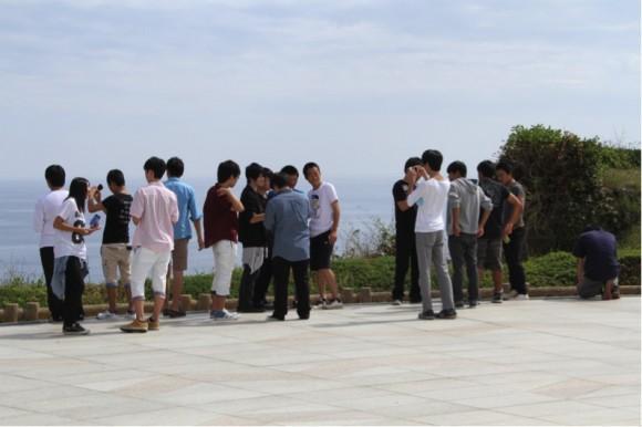 2学年修学旅行in沖縄2014年